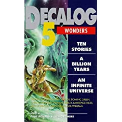 Decalog 5: Wonders : Ten Stories a Billon Years an Infinite Universe (New Adventures) by Jim Mortimore and Paul Leonard