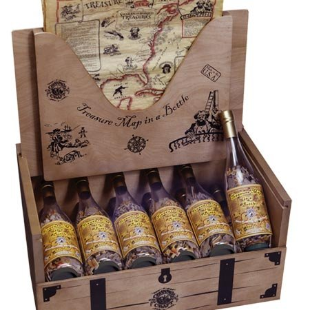Picture of Channel Craft Puzzle Bottle Treasure Map Display (B000FE5UWE) (Puzzle Accessories)