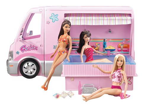 Camping car barbie le moins cher