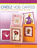 Crez vos cartes d'invitation, d'anniversaire, de voeux
