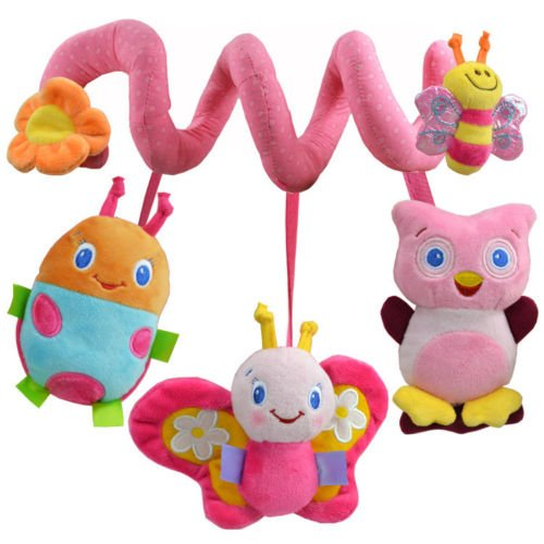 New Toy Baby Windbell Hanging Rattles Authentic Hot Crib Toys Plush Soft Stuffed front-780463
