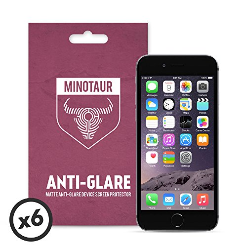 apple-iphone-6-6s-screen-protector-pack-matte-anti-glare-by-minotaur-6-screen-protectors