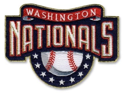 Washington Nationals MLB Baseball Team Logo Home Patch at Amazon.com