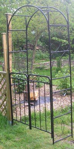 Spiral Garden Arch And Gates / Archway