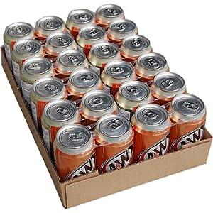 A&W クリームソーダ 355ml 箱入り24缶(12缶 X 2箱)ケース