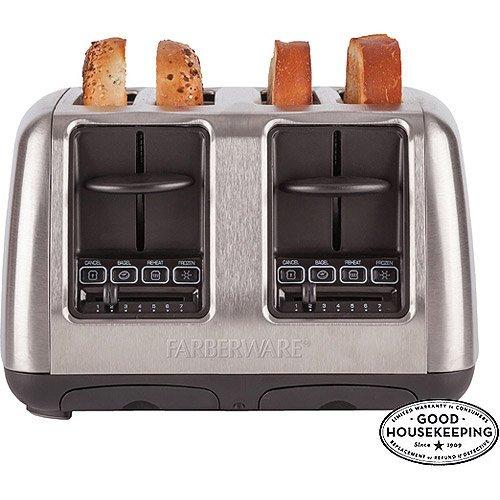 Farberware 4-slice Toaster, Stainless Steel (Farberware 103745 compare prices)