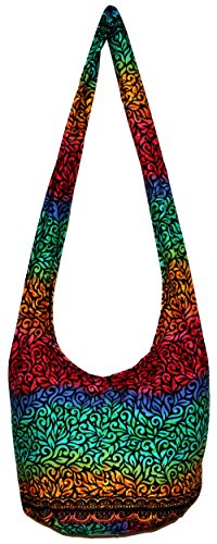 All Best Thing Crossbody Bohemian Hippie Hobo Boho Big Bag 37 Inch Length BOH14