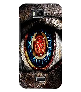 ColourCraft Creative Eye Design Back Case Cover for HUAWEI HONOR BEE