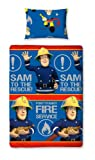 Character World 135 x 200 cm Fireman Sam Rescue Single Rotary Duvet Set