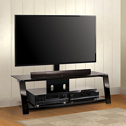 Bell'O International TP4452 52 Inch Two-Shelf Triple Play Universal A/V System with Swivel TV Mounting