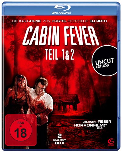 Cabin Fever 1 & 2 (UNCUT Edition) [2 Blu-rays]