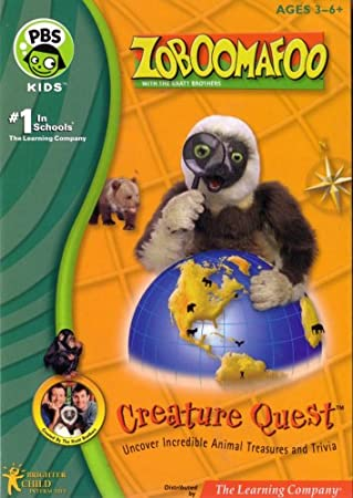 Zoboomafoo Creature Quest DVD Ages 3-6 and Up