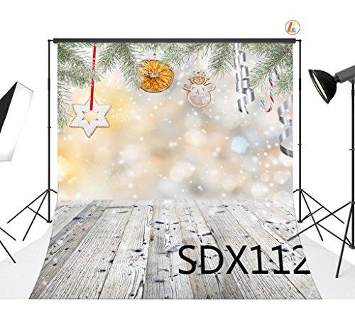 love-baby-vinyle-tissu-backdrops-christmas-theme-et-le-plancher-de-bois-la-photographie-contexte-10x