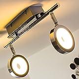 Plafón con 2 spots LED Galli de diseño