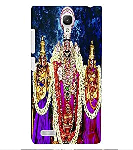 ColourCraft GOD Balaji Design Back Case Cover for XIAOMI REDMI NOTE 4G
