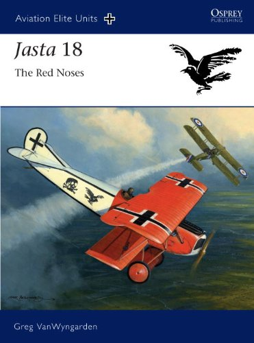 Jasta 18 - the Red Noses (Aviation Elite Units)