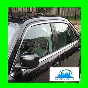 2005-2010 CHRYSLER 300 300C PRECUT CHROME UPPER WINDOW TRIM MOLDINGS 4PC 2006 2007 2008 2009 05 06 07 08 09 10 SRT8 SRT-8 LIMITED TOURING