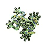 Barcino Mosaic Green Frog Magnet