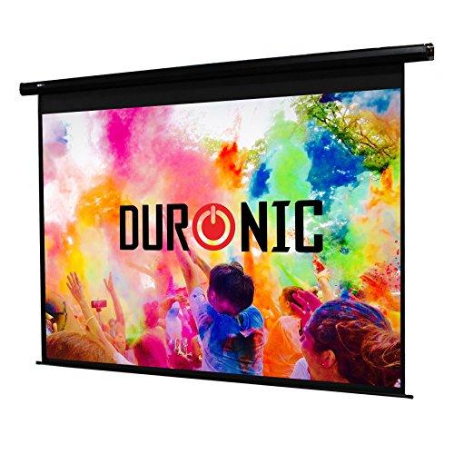 """Duronic EPS70 /43 Schermo da proiezione HD bianco opaco a sviluppo elettrico 70"""" 4:3 / 142 X 107 cm - Fissaggio a muro o a soffitto"""