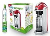 SodaStream 1018111492 Wassersprudler Fizz inklusiv 1x Alu-Zylinder 60 L und