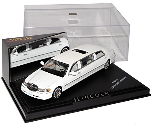 lincoln-town-car-weiss-stretch-limousine-1-43-vitesse-modell-auto-mit-individiuellem-wunschkennzeich