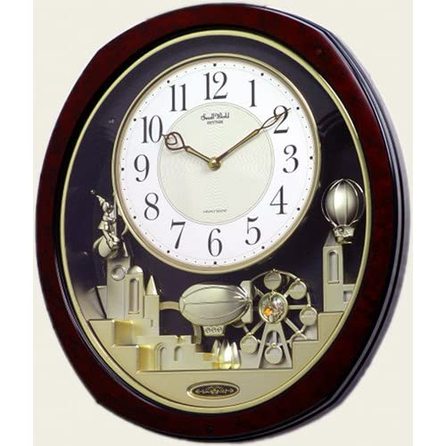seiko melodies in motion musical wall clock with 12