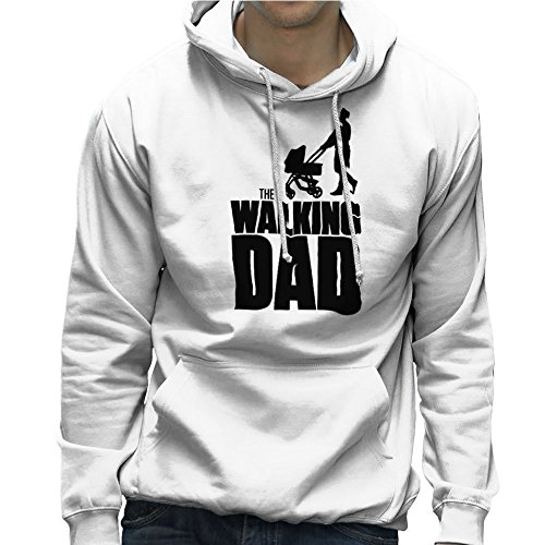 Fathers Day Collection The Walking Dad Men's Hooded Sweatshirt