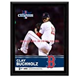 Clay Buchholz Boston Red Sox 2013 World Series Champions Sublimated 10.5'' x 13'' Plaque