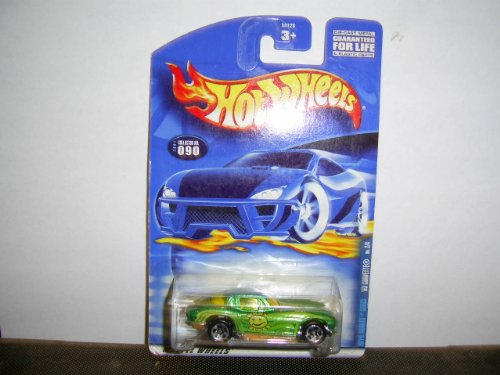 Hot Wheels 2001 090 Hippie Mobiles 2 0f 4 '63 Corvette - 1