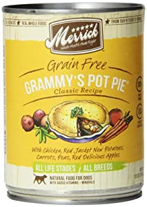 Merrick Grammy's Pot Pie Dog Food 13.2 oz (Pack of 12)