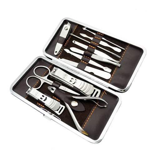 12-in-1-Stainless-steel-Nail-Clippers-Manicure-Pedicure-Set