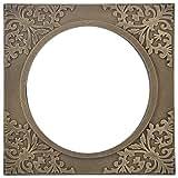 Shreenath Wooden Mirror (SH119, Antique Golden)