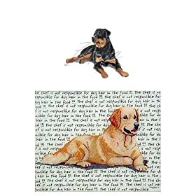 Rottweiler Glass Cutting Board