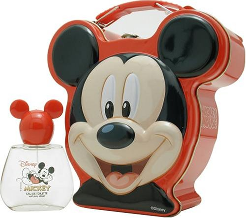 Mickey Mouse By Disney For Men. Set-edt Spray 1.7 Ounces & Metalic Lunch Box