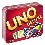 Mattel K0888-0 - UNO Deluxe, Kartenspiel hergestellt von Mattel