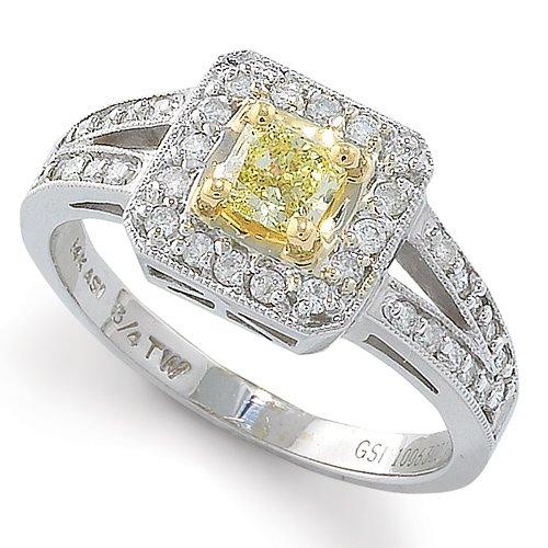 18k Diamond Engagement Ring Engagement Rings in 18k White
