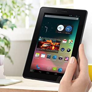 MOCREO™ 7 Inch Unlocked 3G Phoneblet Android 4.1 Dual Cores MTK8377 Dual SIM Built in 3G Dual Camera 3G Phone Super Thin Tablet PC with HD Multi Capacity Touch, GPS, Bluetooth, WiFi