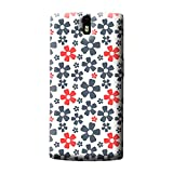 Garmor Pretty Pattern Plastic Back Cover For Oneplus One (Pretty-2)