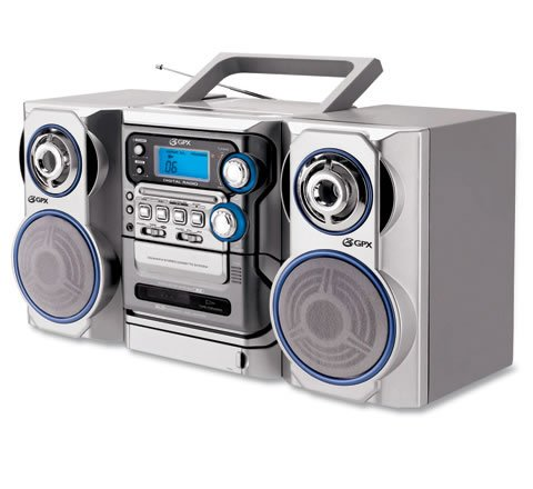 Buy GPX Home & Go CD/Cassette Player