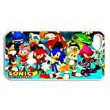 Custom xbox 360 games sonic The Hedgehog iPhone 5,5S Hard Plastic Shell Case Cover(HD image)