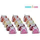 KiddosCare New Born Baby Cotton Cloth Nappies In The Pack Of 15(Colour And Print May Vary)