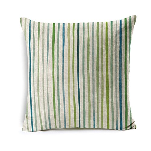 New Green Leaf Pastoral Cushion For Sofas Geometric Polyester Cotton Linen Pillowcase Cojines Capa Para Almofada Home Deco Light Grey