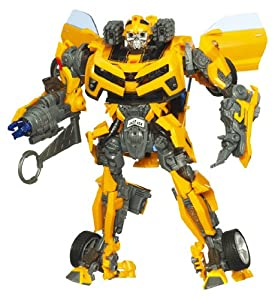 TRANSFORMERS - BATTLE OPS BUMBLEBEE - mit Licht- und Soundeffekt - Hunt for the Decepticons - Level 4 - FRANZÖSISCH SPRECHEND - HASBRO