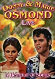 Donny And Marie Osmond Live A Heartfull Of Songs - Live [DVD]
