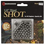 Marksman 1/4 Steel Shot, 250ct