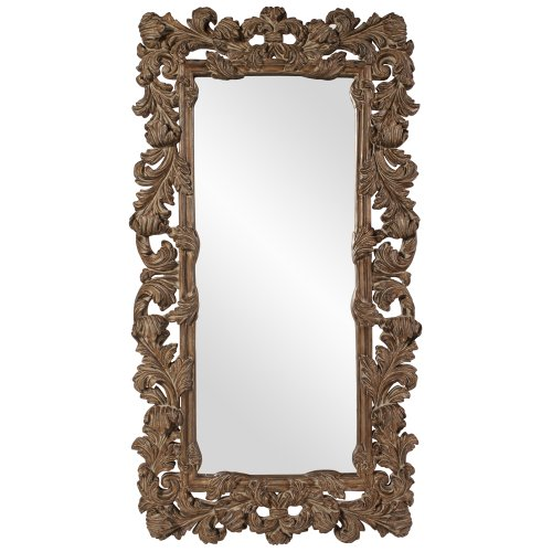 Baroque Mirror White