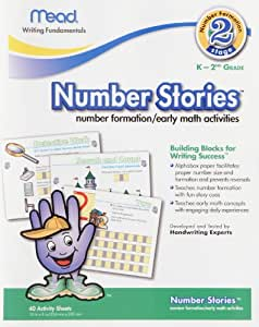 Number Stories WorkBook, Stage Two, 10 x 8 Inches, 40 Count (48022)