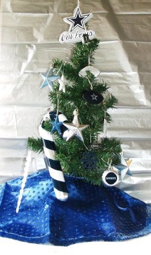 Dallas Cowboys Christmas Tree Skirt