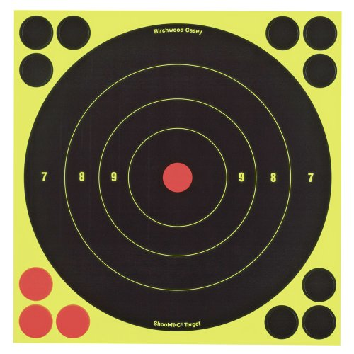 Birchwood Casey Shoot-N-C 8-Inch Round Target (30 Sheet Pack) (Round Up Target compare prices)