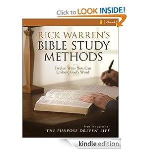 Rick Warren's Bible Study Methods: Twelve Ways You Can Unlock God's Word
